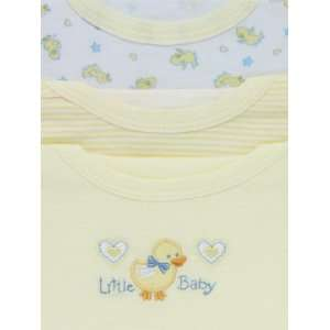 CUTIE PIE Baby Yellow 3 Piece Cotton T Shirt Set with