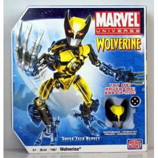 Mega Bloks Spider Man Buildable Techbot Figure   Marvel Universe Super