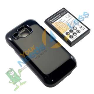 NEW 2X 3500mAh extended battery Samsung Galaxy S Indulge R910 + Cover