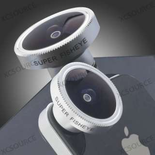 Fish Eye Fisheye Lens for iPhone 4S 4G 4 iTouch Camera DC112 |