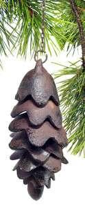 Cast Iron Pine Cone Ornamental Bell   OT00006