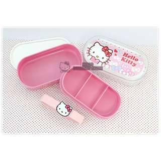 Sanrio Hello Kitty Lunch Box (Container)/ Bento Box  Ribbon Design