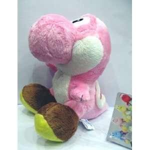 Super Mario Brothers Yoshi Pink Ver 6 Plush Toys & Games