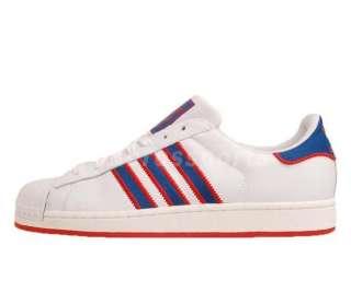 Adidas Originals Superstar 2 LTO White Blue New 2012 Casual Shoes