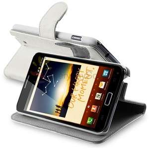 Leather Case Cover with Stand For Samsung Galaxy Note LTE i717