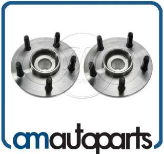 02 08 Dodge Ram 1500 Pickup Truck Front Wheel Hub & Bearing Pair Set