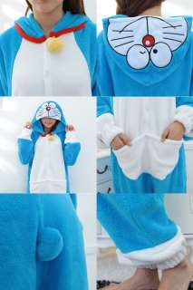 Japan Anime Doraemon Jingle Cats Costume Cosplay Kigurumi Pajamas
