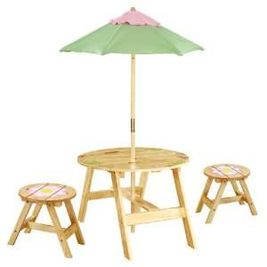 Magici Garden Indoor/Outdoor Table and 2 Chairs Toys