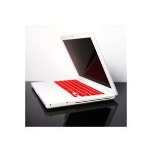 TopCase RED Keyboard Silicone Skin Cover for Macbook 13 13.3 (1st