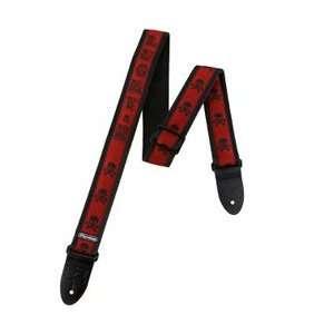 Jim Dunlop D3816LS Strap Lucky 13 Skull: Musical Instruments