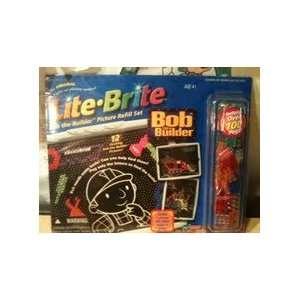 Lite Brite Bob the Builder Picture Refill Set Toys