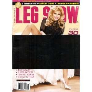 LEG SHOW MAGAZINE NOVEMBER 2009 CLASSIC SPECIAL: LEG SHOW
