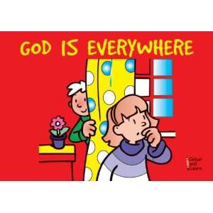 God Is Everywhere (coloring Book) (Learn About God