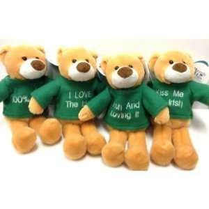 Plush St. Patricks Bears Case Pack 72