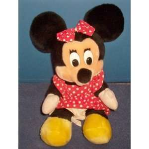 Walt Disney MINNIE MOUSE 12 plush stuffed toy Rare