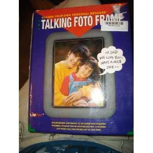 THE TALKING FOTO FRAME   Record Your Own Personal Message