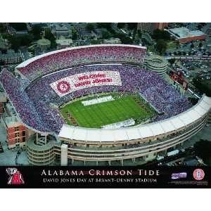 Personalized Alabama Crimson Tide Stadium Print Sports