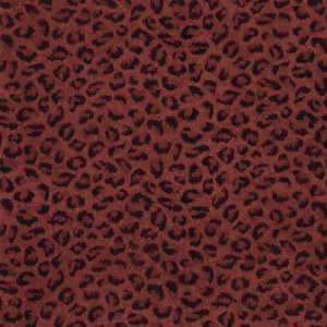 By Color BC1580013 Red Leopard Print Wallpaper