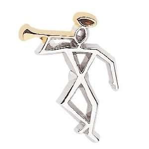 Latter day Moroni Tie Pin: Jewelry