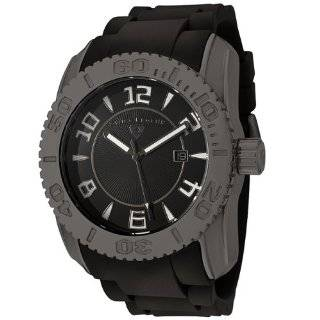 Swiss Legend Mens 20068 GM 01 Commander Collection Gunmetal Ion