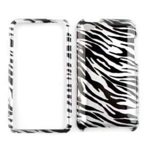 Apple iPod Touch 4 (iTouch) Transparent Zebra Print Hard Case, Cover