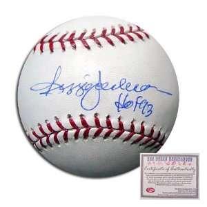 Reggie Jackson Autographed/Hand Signed Rawlings MLB Baseball with HOF