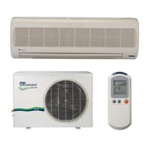 9000 BTU Air Conditioner Ductless Mini Split High Wall Mounted