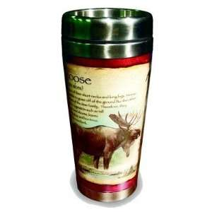 Moose Hunting 16 ounce Stainless Steel Insulated Thermal