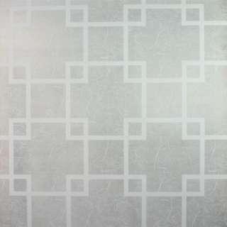 Decorative Privacy Window Film White Lattice 9 Feet