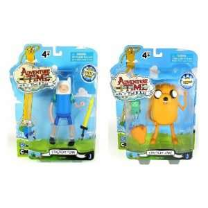 Adventure Time 5 figure set of 2 Jake and Finn