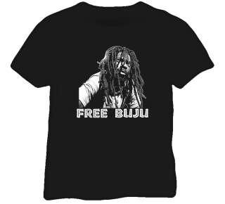 Free Buju Banton Reggae Jamaica T shirt