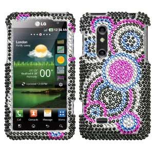 Bubble Full Diamond Bling Hard Case Cover Protector (free ESD Shield