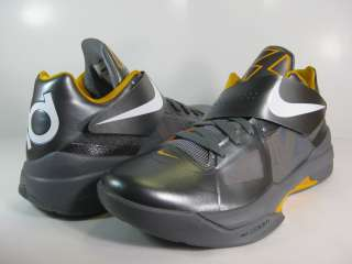 NIKE MENS ZOOM KD IV Cool Grey/White Del Sol  473679 007  BASKETBALL
