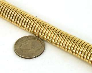 VINTAGE 14K SOLID GOLD HEFTY LADIES FLEX BRACELET