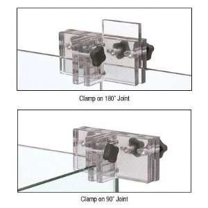 CRL Clear Frameless Assist Shower Door Panel Clamp by CR
