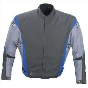 Joe Rocket Nova 2.0 Jacket   Small/Charcoal/Grey/Blue Automotive