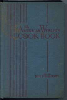 THE AMERICAN WOMANS COOK BOOK Ruth Berolzheimer 1947