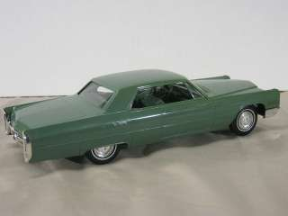 1966 Cadillac Coupe Deville Promo (Friction), graded 9 out of 10