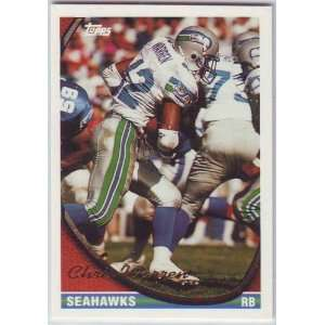 1994 Topps Football Seattle Seahawks Team Set Sports