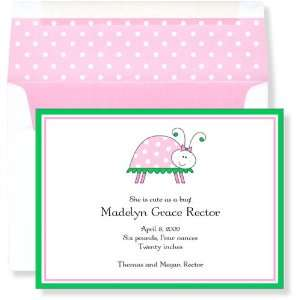 Girl Baby Shower Invitations   Lil Lady Invitation