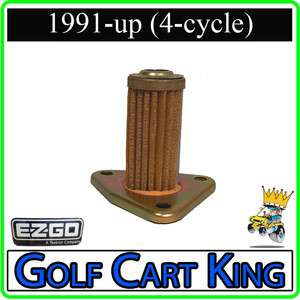 EZGO Marathon/TXT Oil Filter for 4 cycle Robins Gas Golf Cart Engines