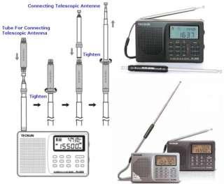 TECSUN PL 606 Black FM/AM/LW/SW/MW World Band DPS Radio