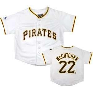 Andrew McCutchen Pittsburgh Pirates Infant Home White Replica Jersey