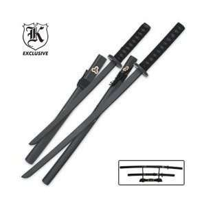 Bud K Samurai Warrior Wood Sword Set   2 Pieces Toys