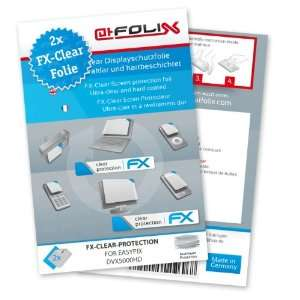 FX Clear Invisible screen protector for Easypix DVX5000HD / DVX