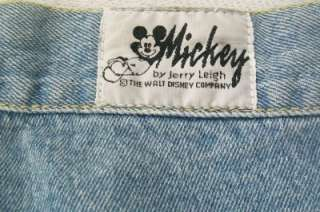 Mickey by Jerry Leigh Disney Mickey Mouse Jean Shorts L
