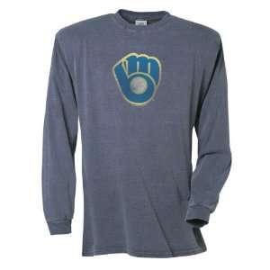Milwaukee Brewers Big Time Play Garment Dye Long Sleeve T