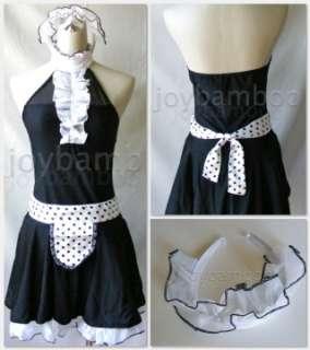 White Pirate Nurse Flight Attendant Mafia Maid Bunny Costume