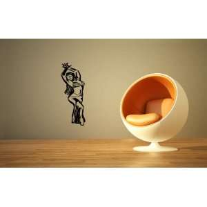 Wall Mural Vinyl Sticker Bally Dancer Girl Lady Woman A412
