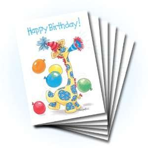 Suzys Zoo Happy Birthday Card 6 pack 10308 Health